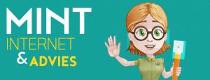 Banner met logo Rechthoek MINT Internet