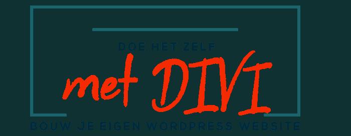 Doe het Zelf met Divi | Maak je eigen WordPress Site