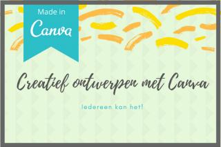 Leer gratis ontwerpen met Canva