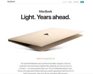 Screenshot Apple Macbook Air