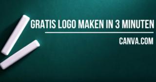 Gratis logo maken met Canva in 3 minuten