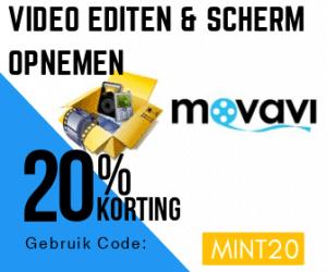 Movavi Korting opnemen en screencast maken